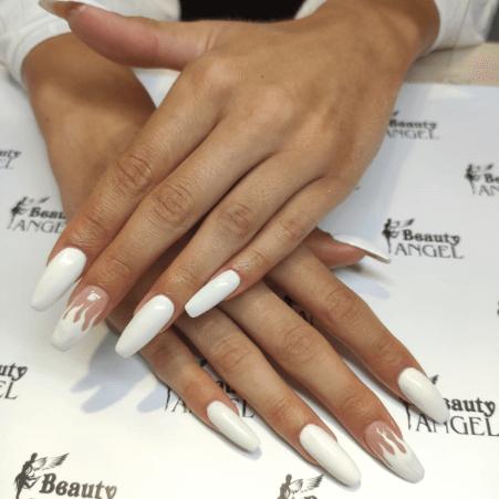 Stylizacja paznokci wykonana wsalonie Beauty Angel wRzeszowie.