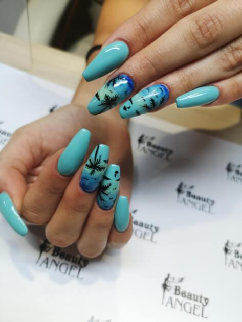 Stylizacja paznokci metodą żelową - Beauty Angel Studio Urody