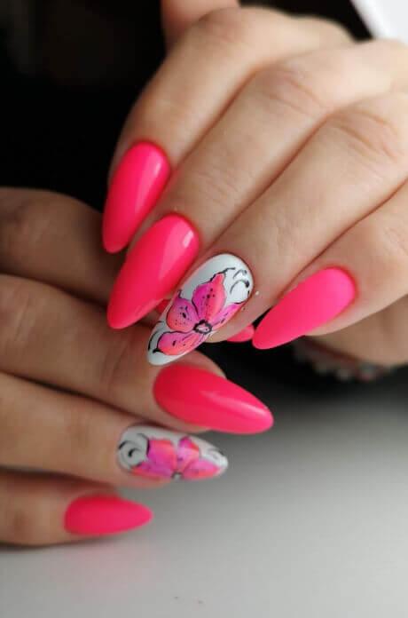 Stylizacja paznokci wsalonie Beauty Angel.
