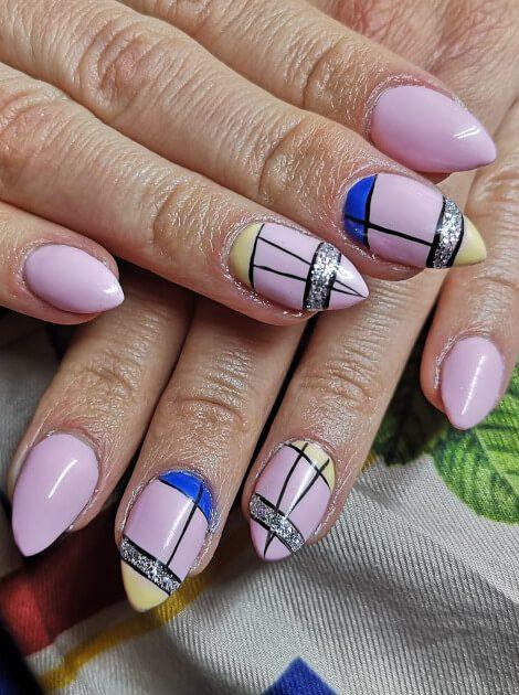 Manicure hybrydowy - salon Beauty Angel.