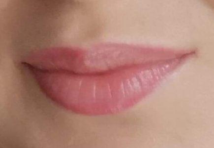 Wygojone usta pozabiegu makijażu permanentnego