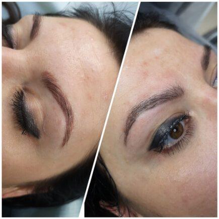 Usunięcie makijażu permanentnego brwi wRzeszowie